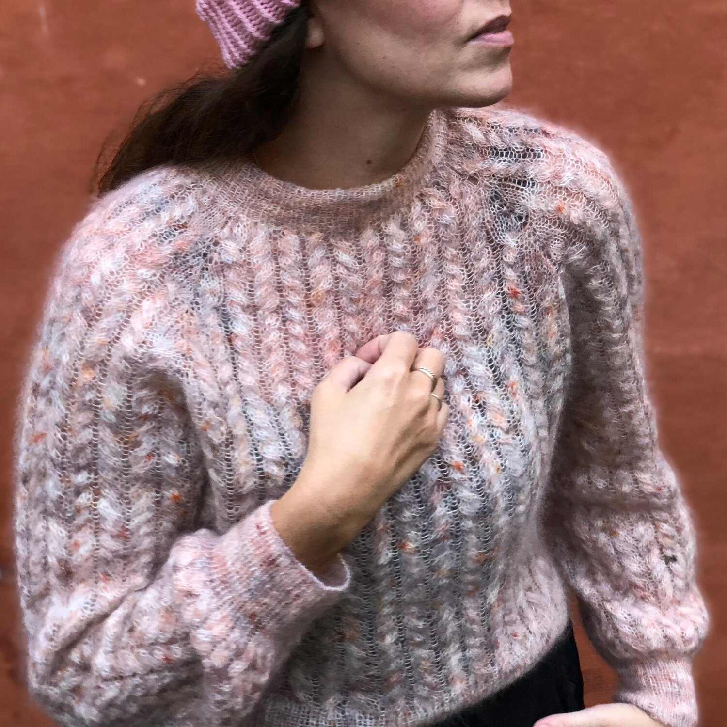 PopKnit Twist And Shout Sweater
