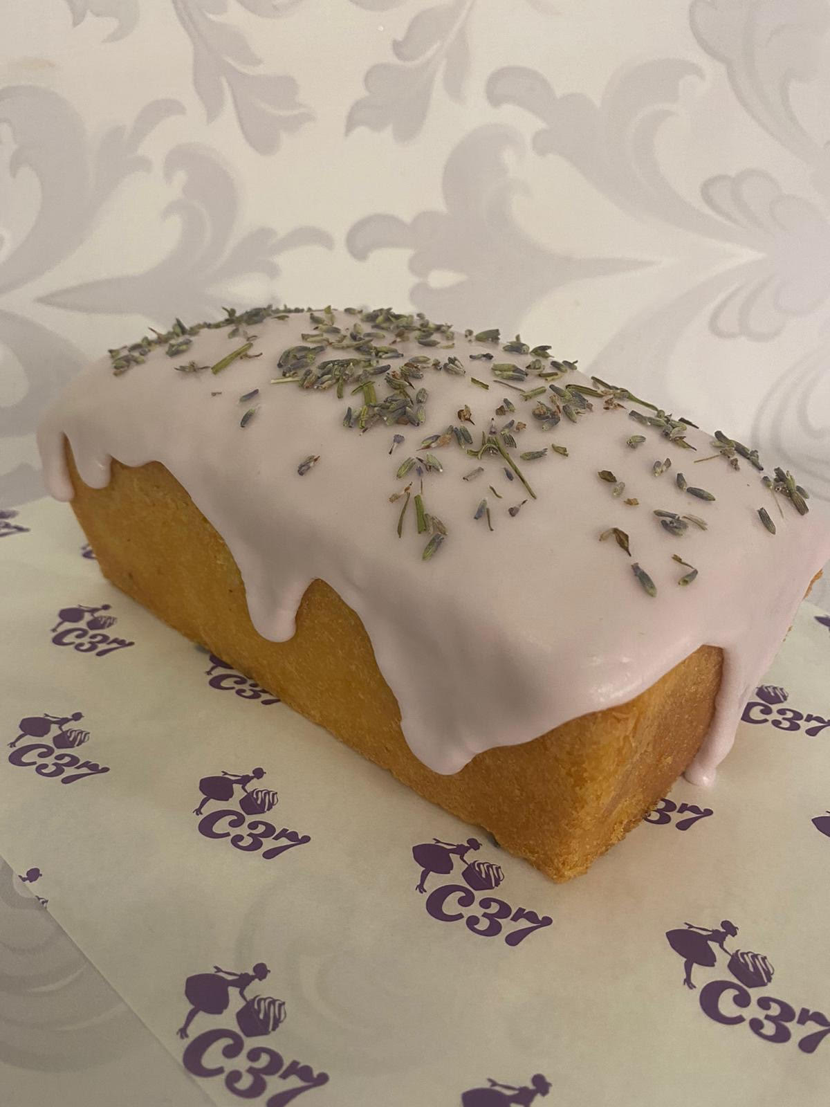 Lemon and Lavender Loaf Cake
