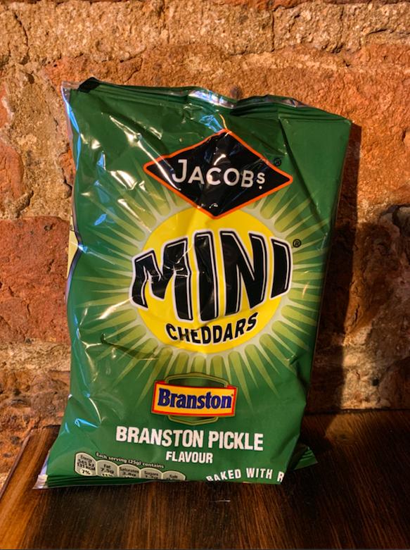 Mini Cheddars, Branston Pickle