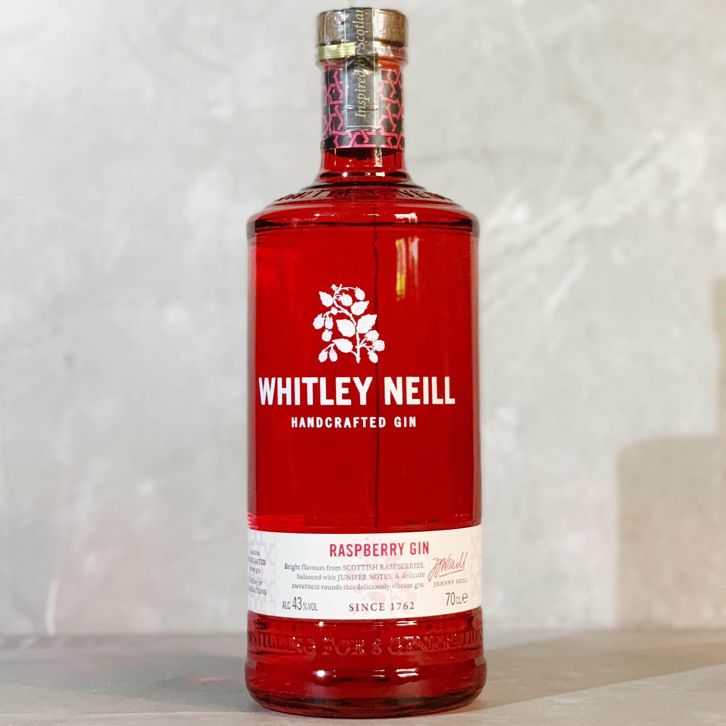 WHITLEY NEILL | RASPBERRY GIN | 70CL | 43% ABV