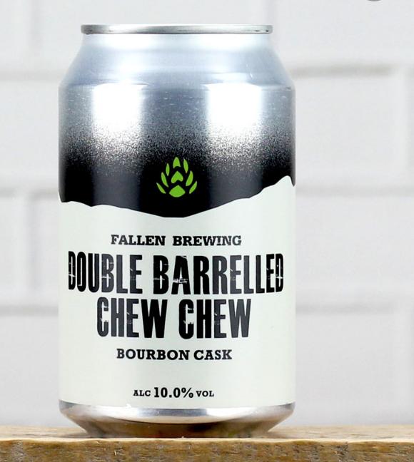 FALLEN / CHEW CHEW /  BOURBON BARREL AGED / 6% ABV 330ML