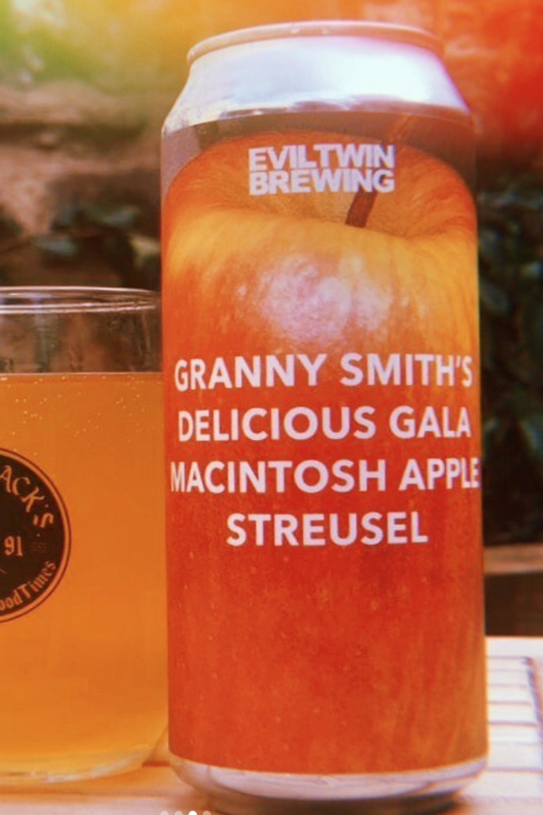 EVIL TWIN /  GRANNY SMITHS / SOUR IPA / 7% ABV / 473ML