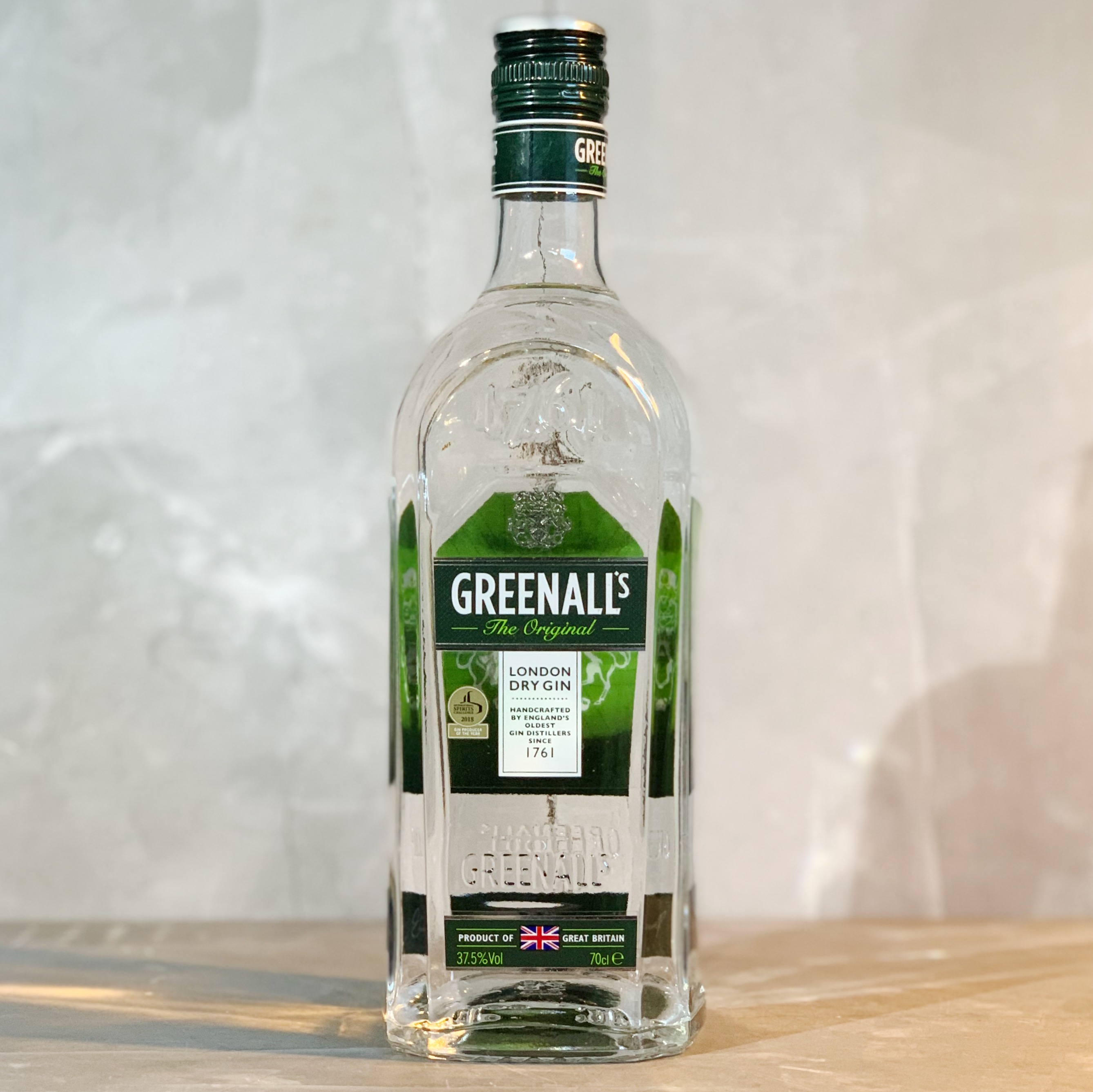 GREENALL'S | LONDON DRY GIN | 70CL | 37.5% ABV