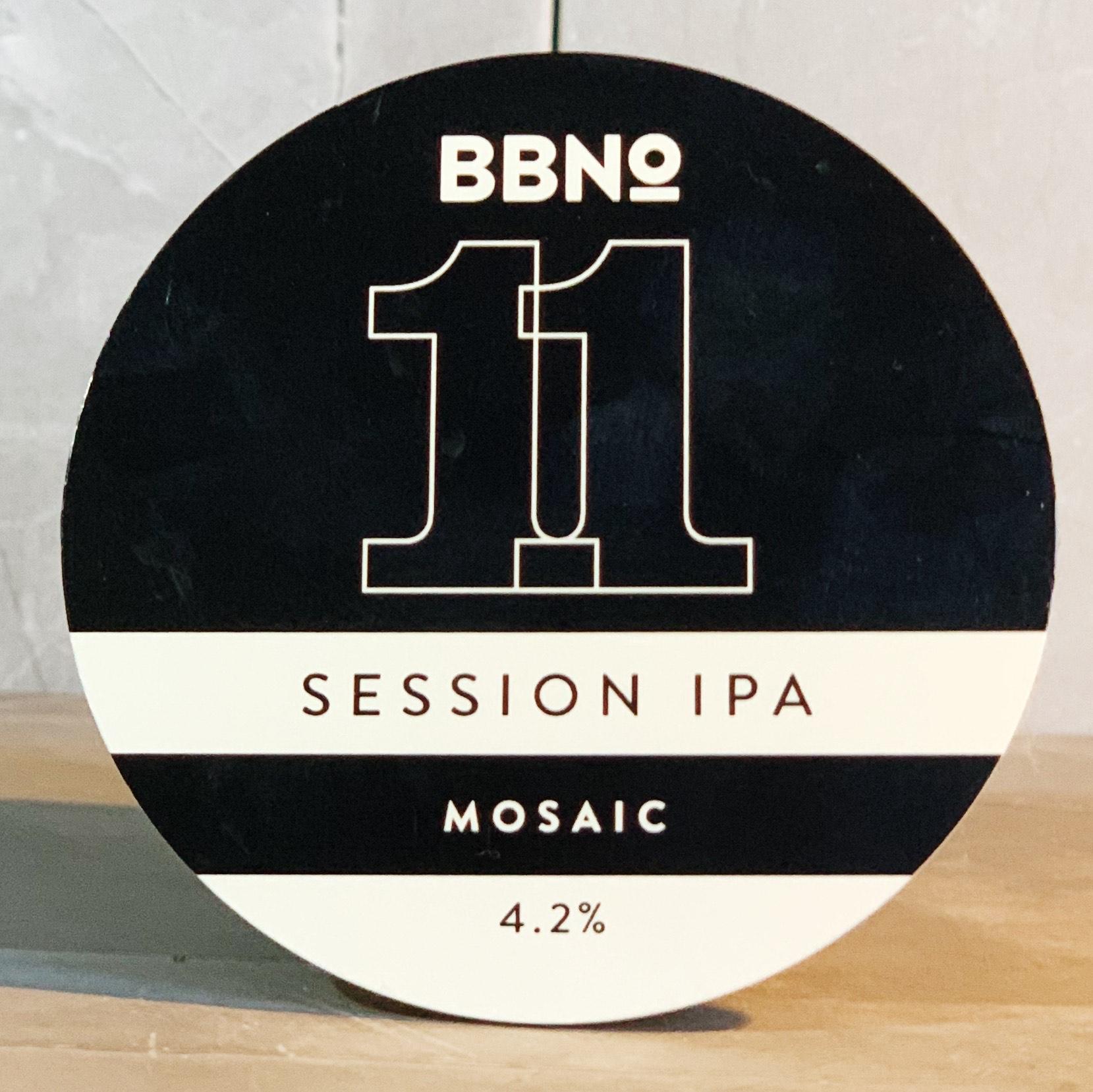 2 PINT FROM KEG | BBNO | MOSAIC | SESSION IPA | 4.2% ABV