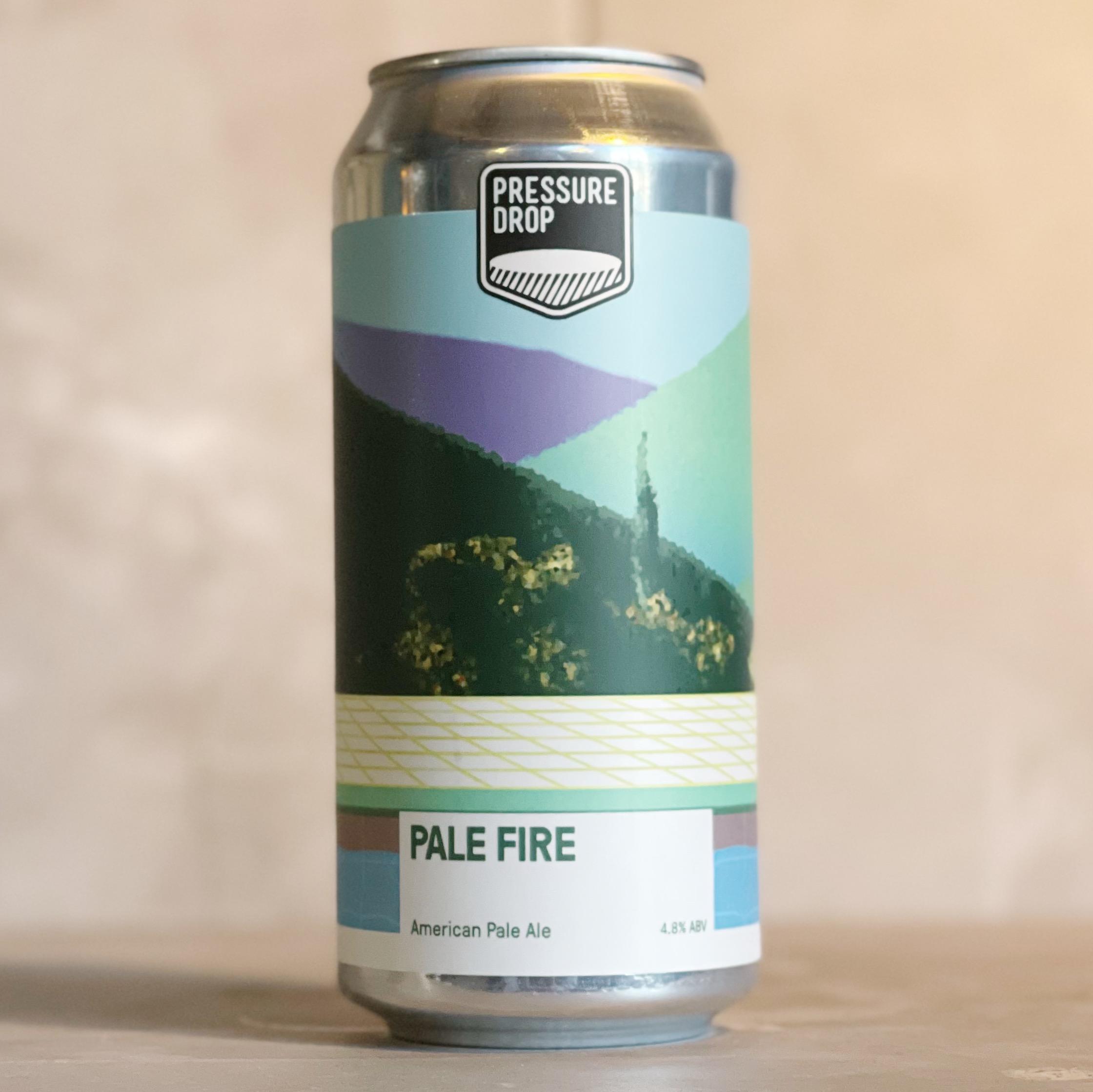 PRESSURE DROP | PALE FIRE | PALE | 4.8% ABV | 440ML