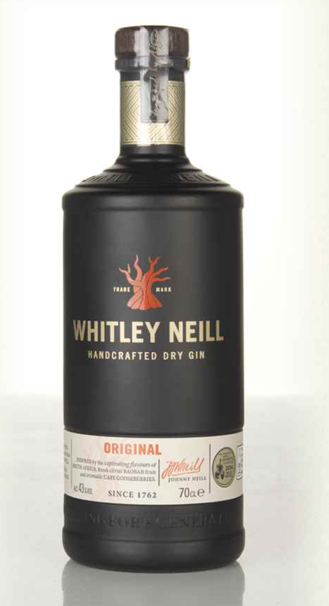 Whitley Neill Handcrafted Dry Gin (70cl, 43%)