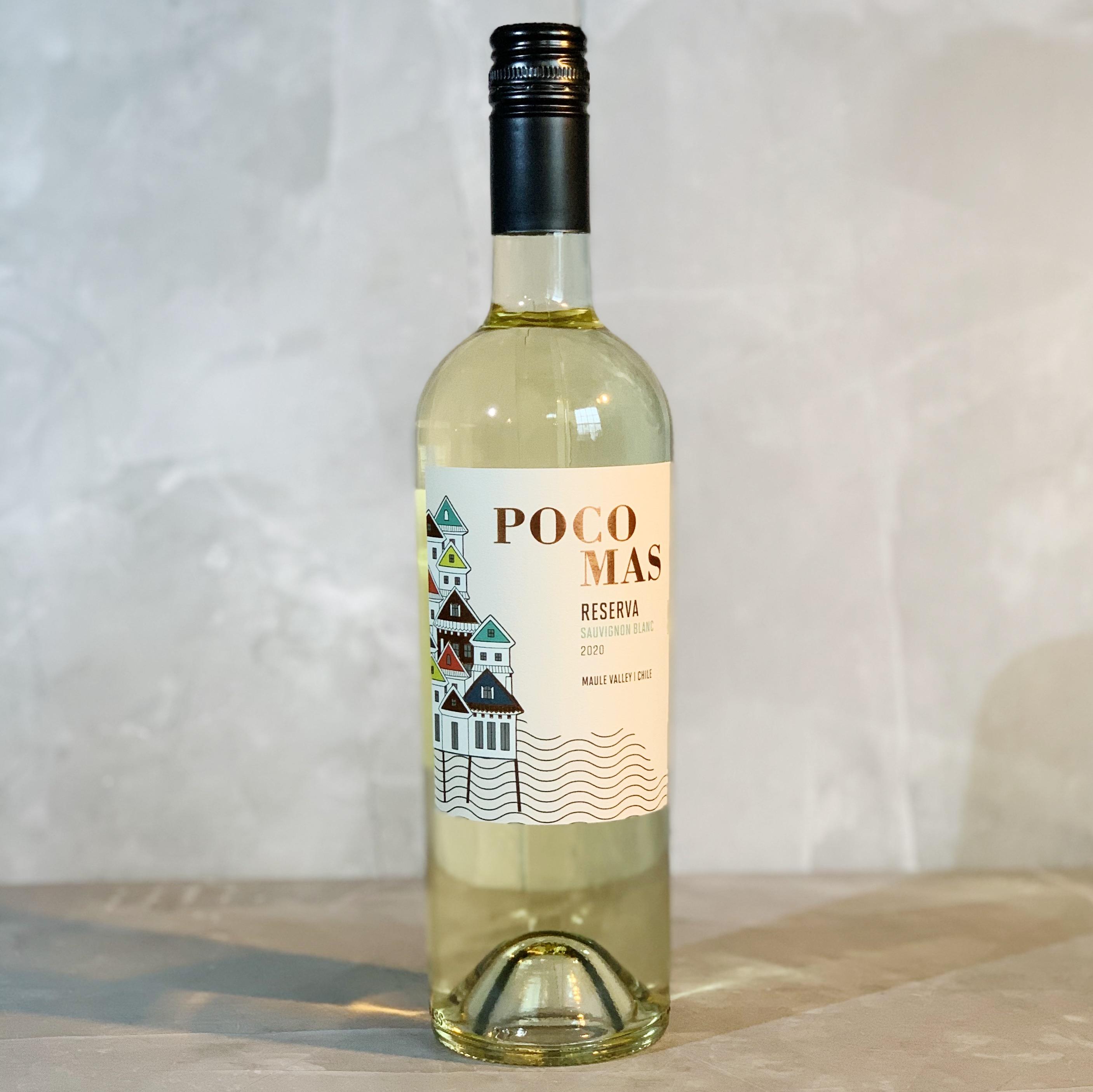 Poco Mas Reserva Sauvignon Blanc  CHILE  WHITE