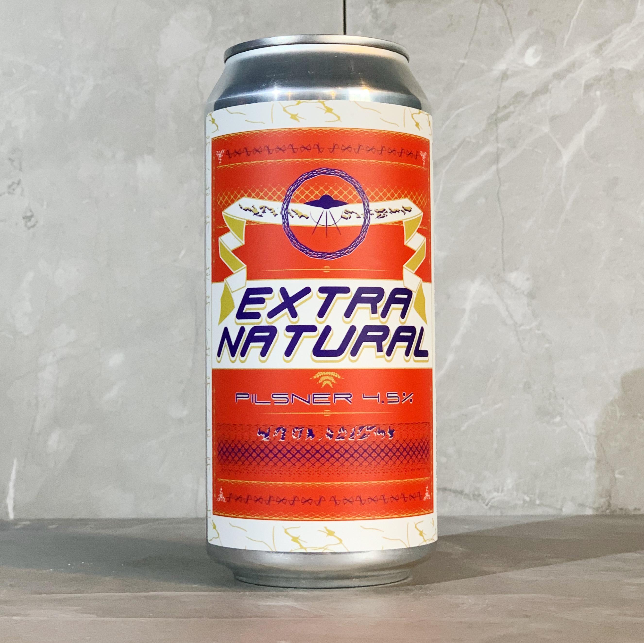 GAMMA / EXTRA NATURAL   PILSNER   4.5% ABV   440ML