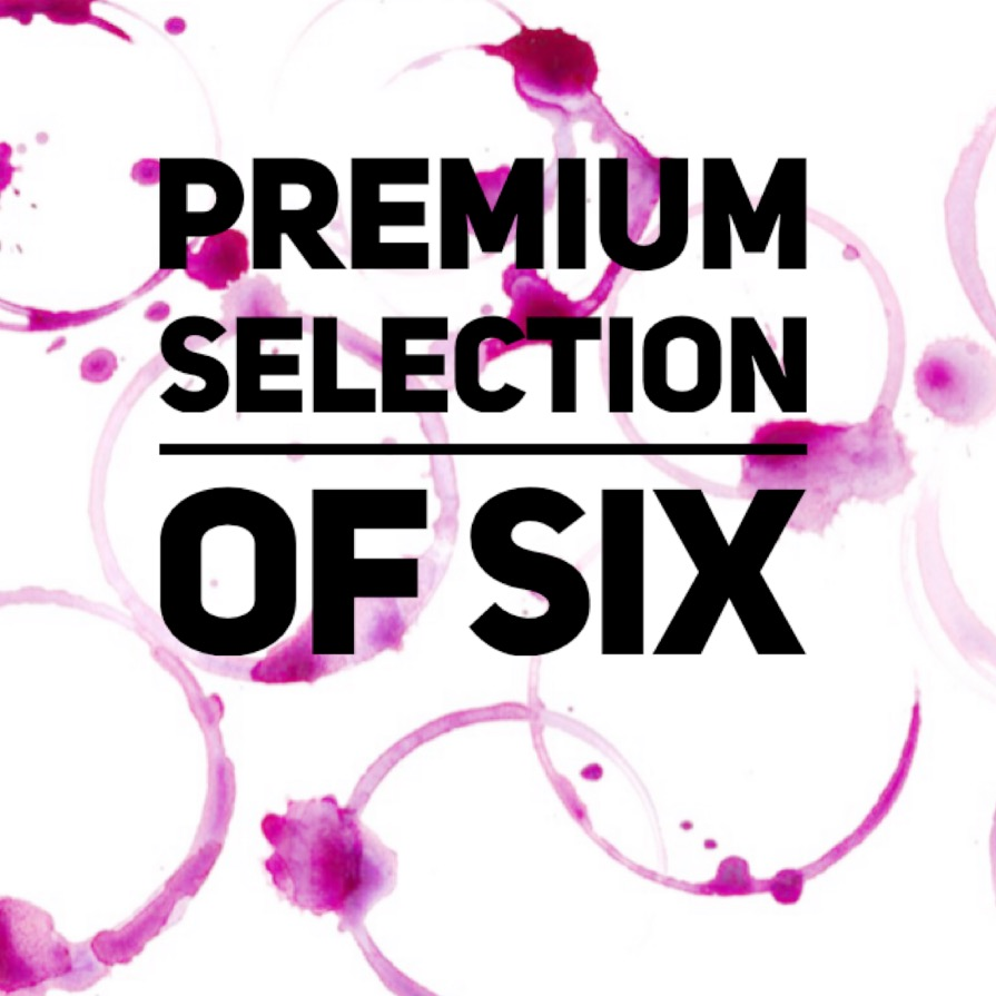 Premium selection wine box of six