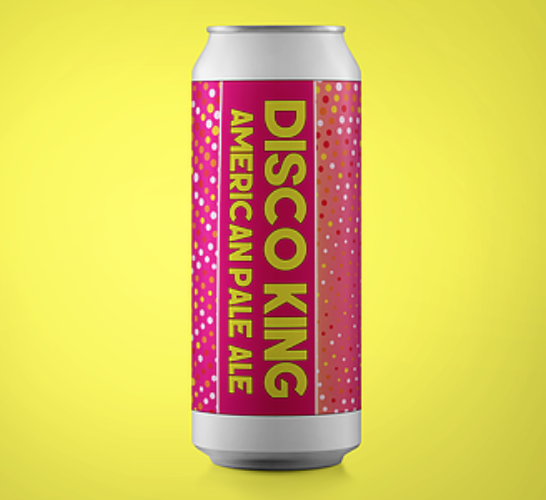 TURNING POINT / DISCO KING / IPA / 5.1% ABV / 440ML