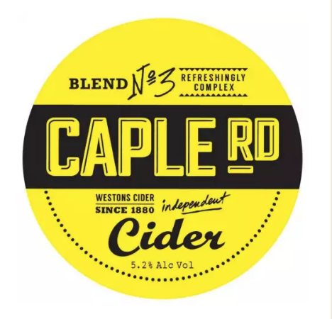 CAPLE ROAD / DRY CIDER / 5.1% ABV / 4 PINT KEG