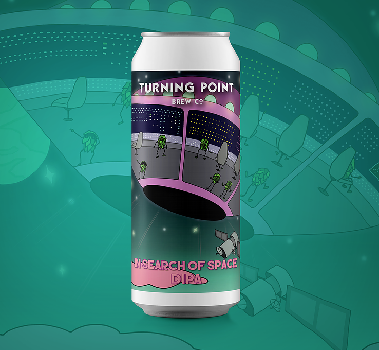 TURNING POINT /SEARCH OF SPACE / DIPA / 8.5% ABV / 330ML