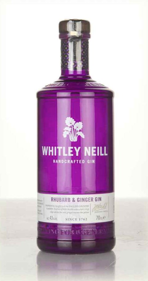 Whitley Neill Rhubarb & Ginger Gin (70cl, 43%)