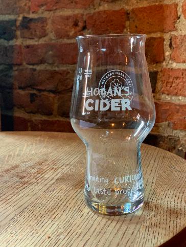 Hogan's Cider Glass