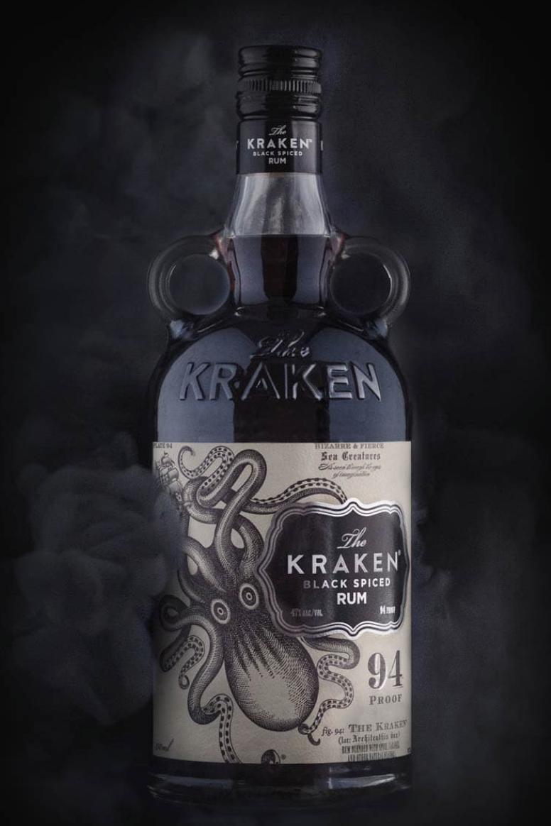 50ml - Kraken Black Spiced Rum & Mixer