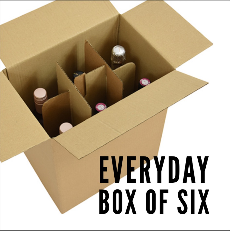 Every day wine box of Six