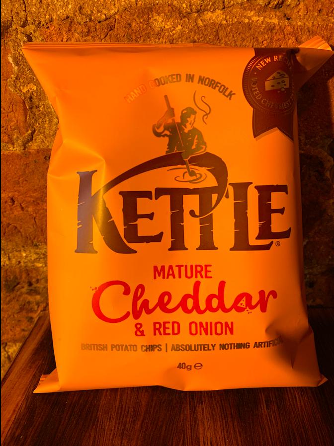 Kettle, Cheddar & Red Onion