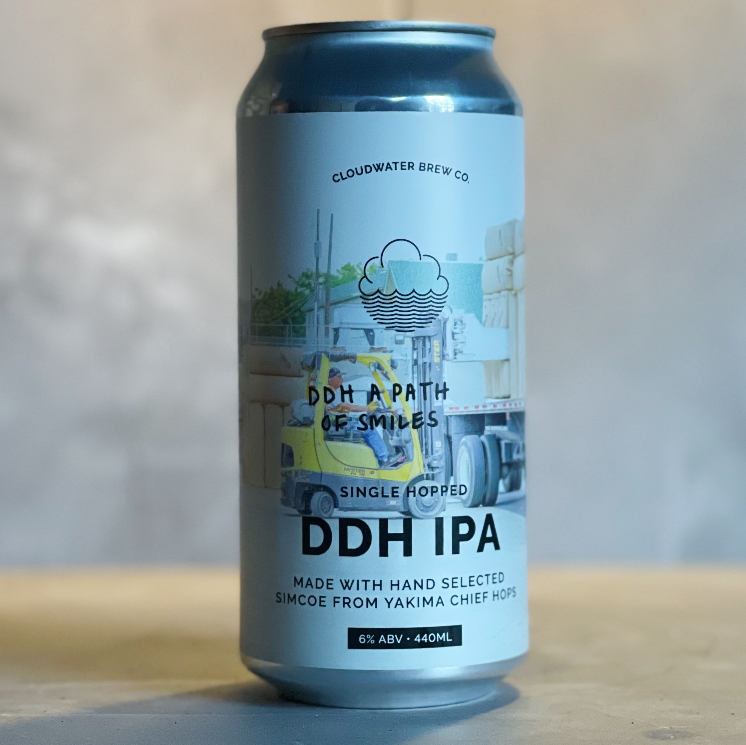 CLOUDWATER | A PATH OF SMILES  | 6% ABV | 440ML