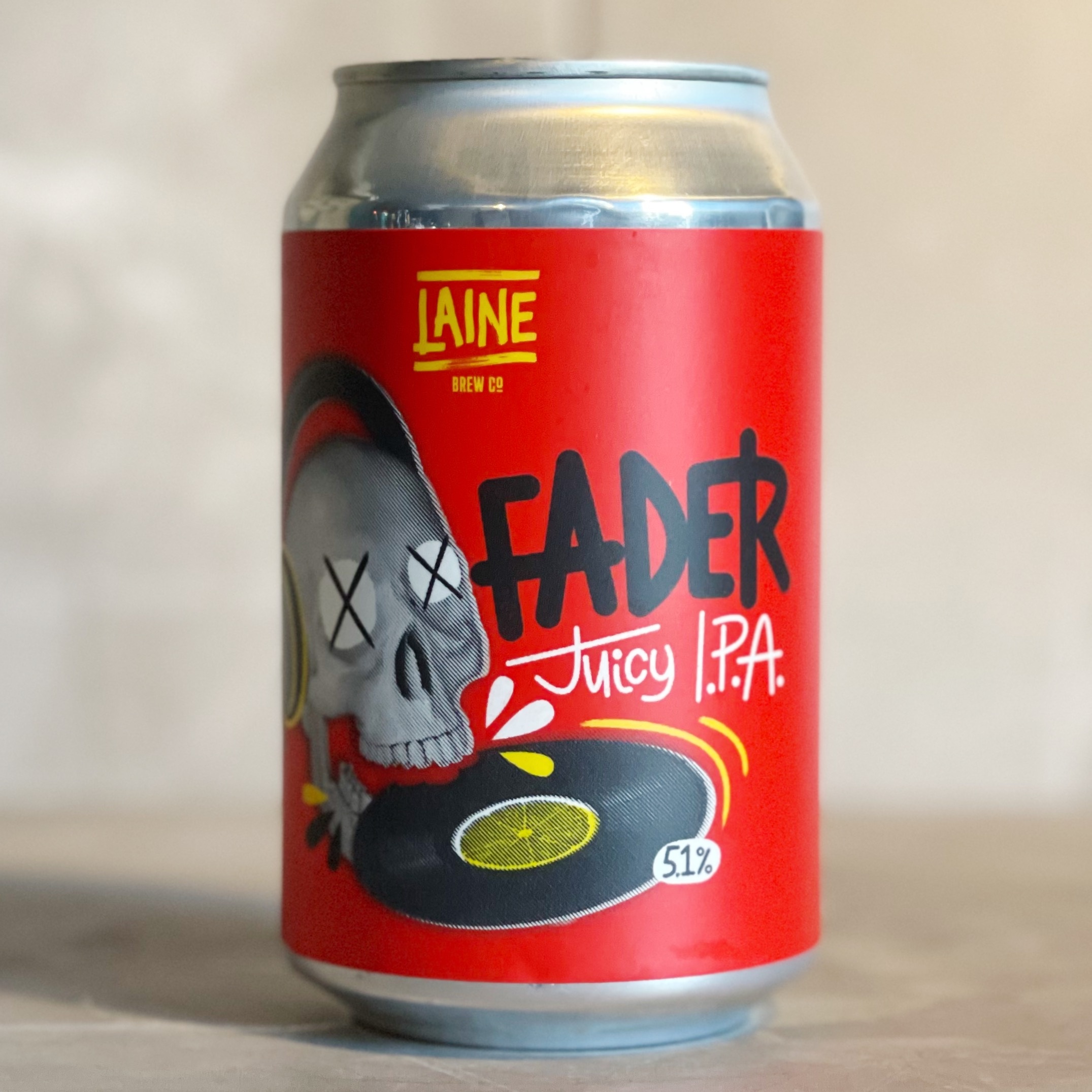 LAINE BREW CO | FADER | JUICEY IPA | 5.1% ABV | 330ML