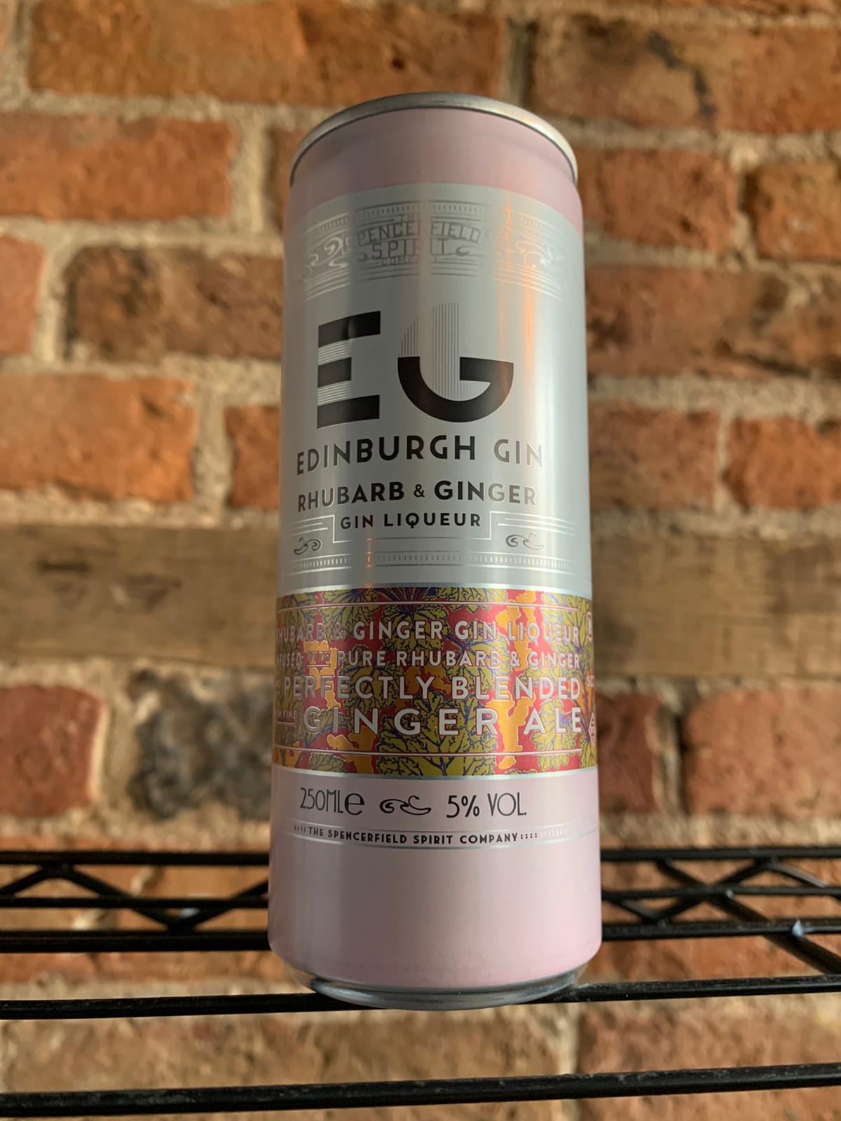 EG Rhubarb & Ginger Gin Liqueur & Ginger Ale Mixer