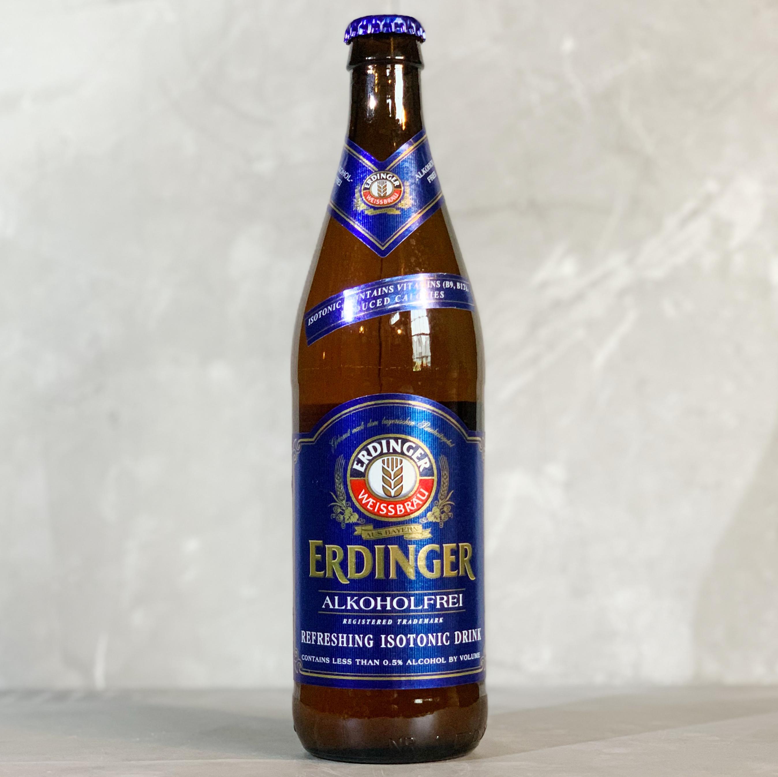 ERDINGER | ALCOHOLFREI | WEISSBIER | 0.5% ABV | 500ML