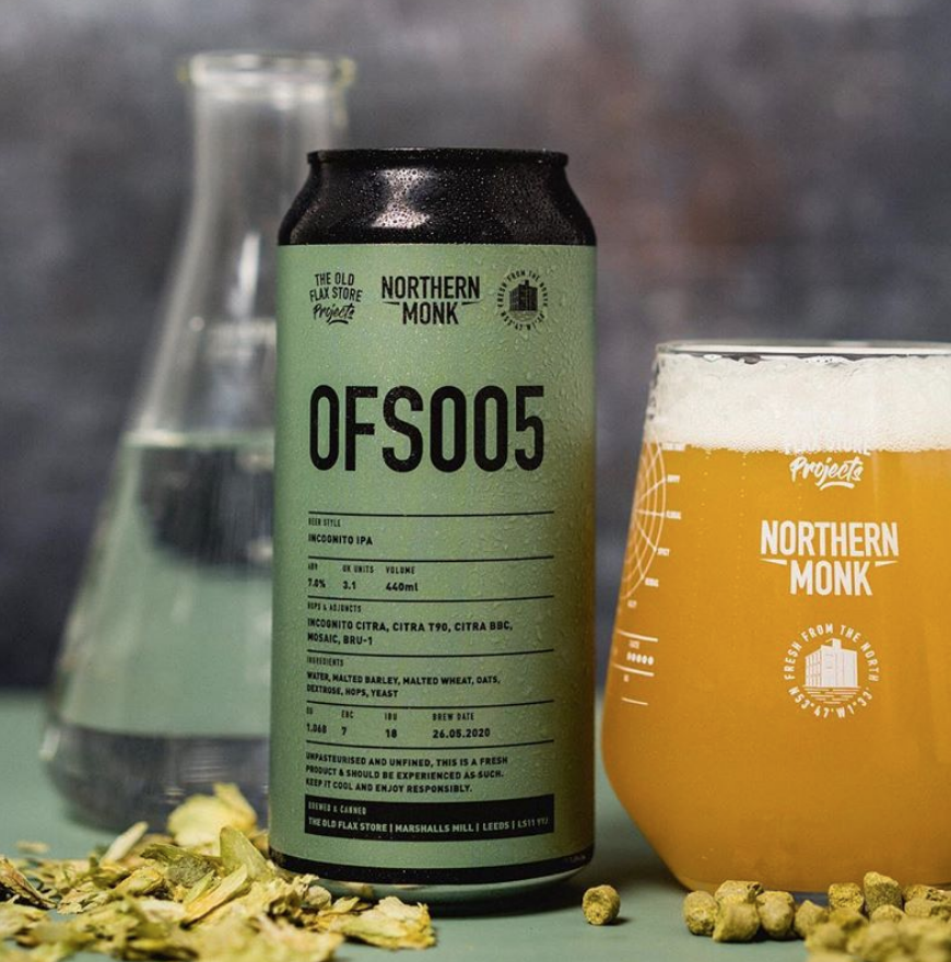 NORTHERN MONK / OFS005 / INCOGNITO OPA / 7.0% ABV / 440ML