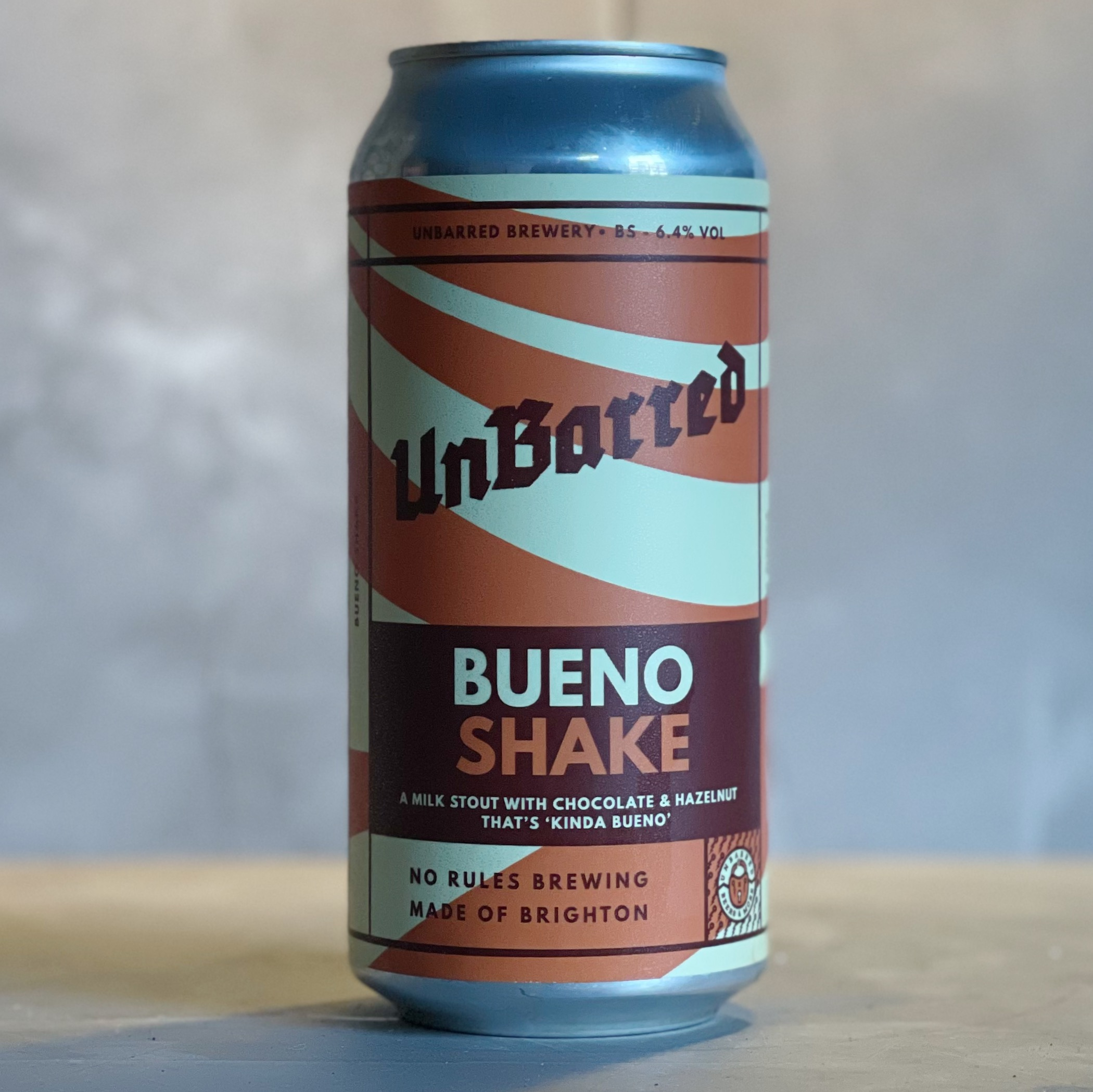 UNBARRED | BUENO SHAKE| STOUT | 6.4% ABV | 440ML