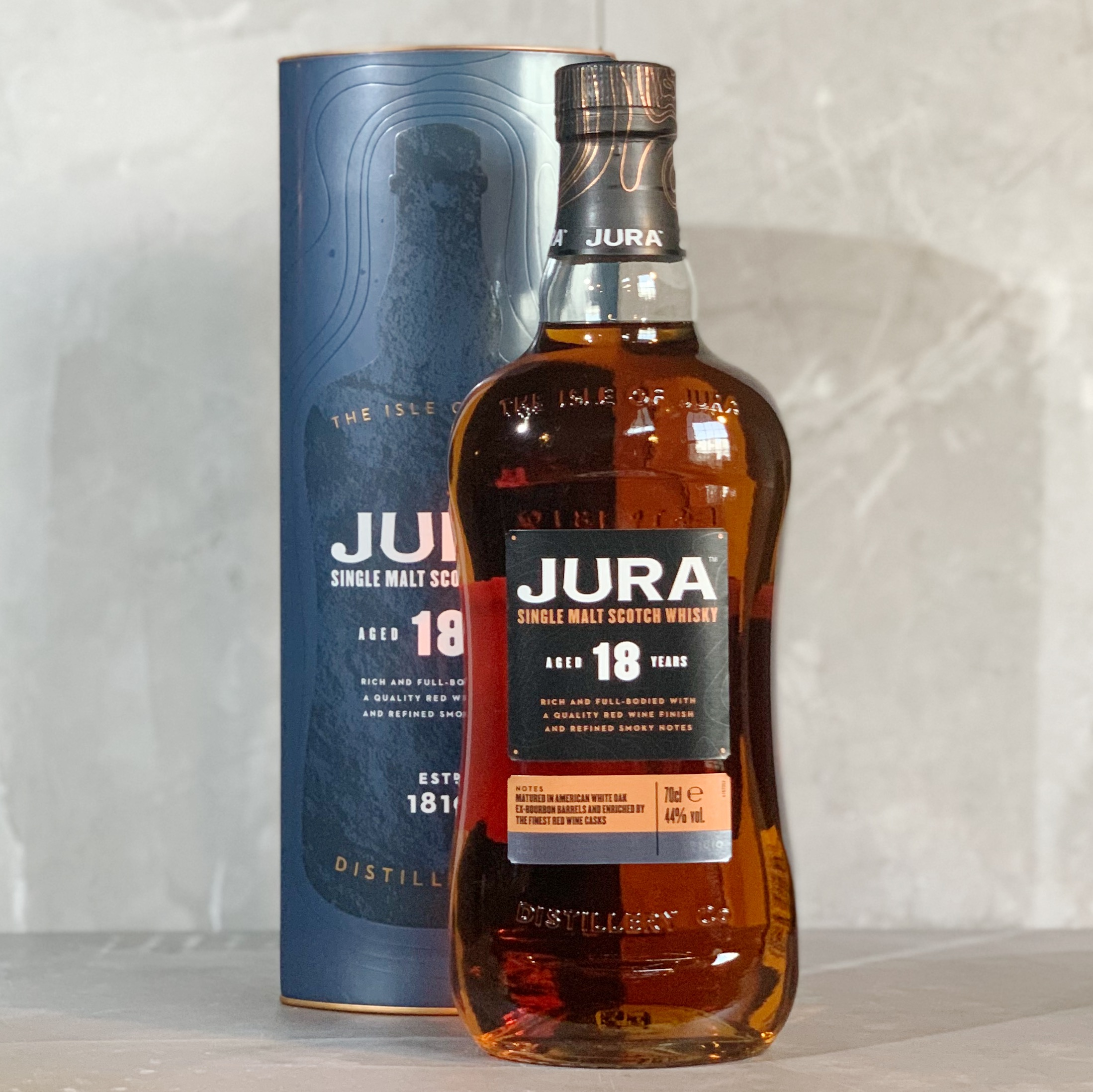 JURA 18 | SINGLE MALT | 70CL | 44% ABV