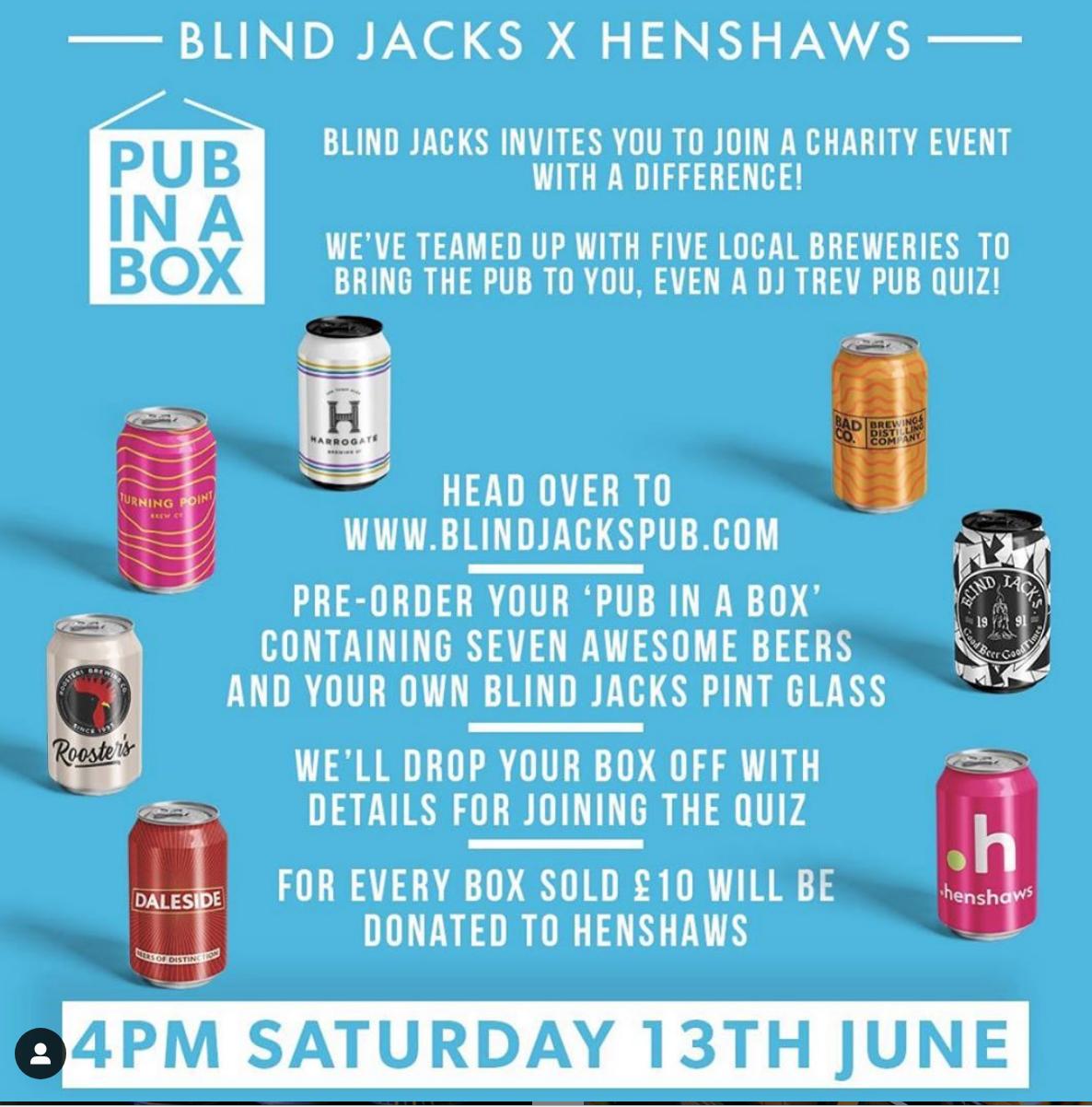 Blind Jack's x Henshaws