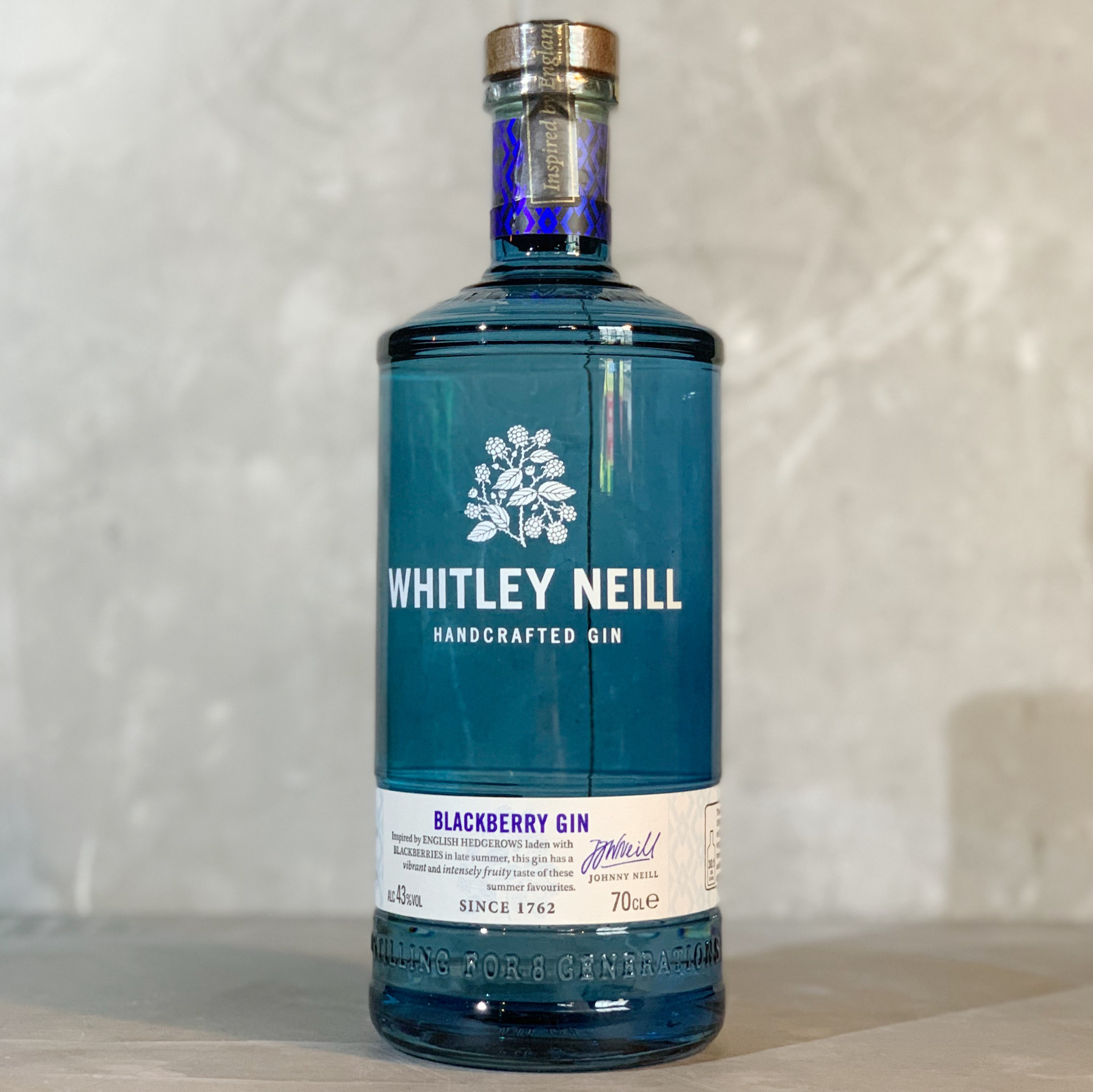 WHITLEY NEILL | BLACKBERRY GIN | 70CL | 43% ABV