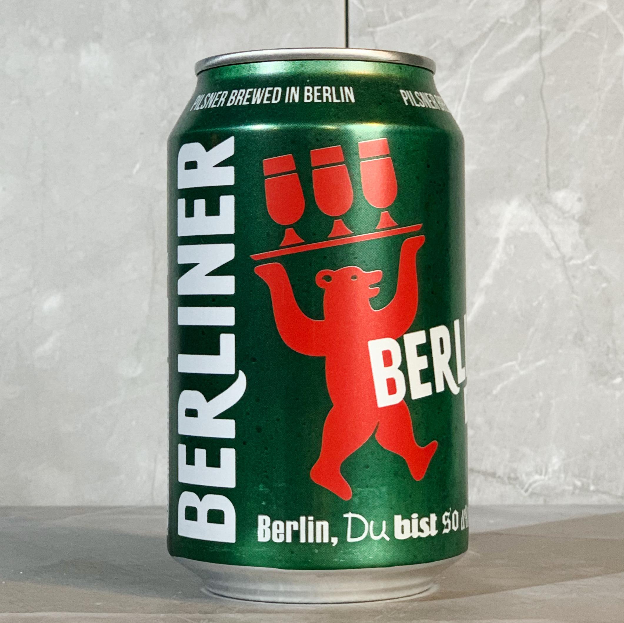 BERLINER | PILSNER | 5.0% ABV | 330ML | BULK BUY DISCOUNTS AVAILABLE