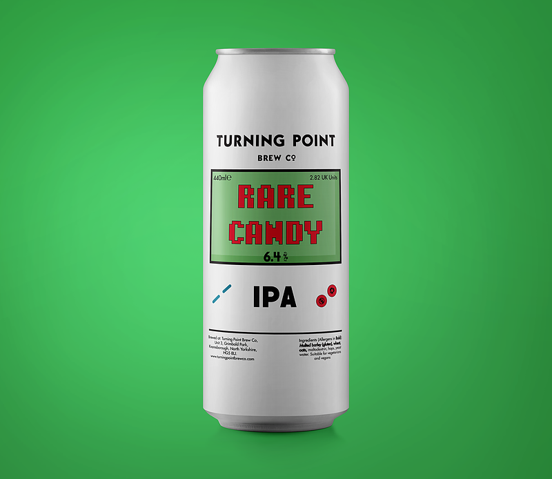 TURNING POINT / RARE CANDY / IPA / 6.4% ABV / 440ML