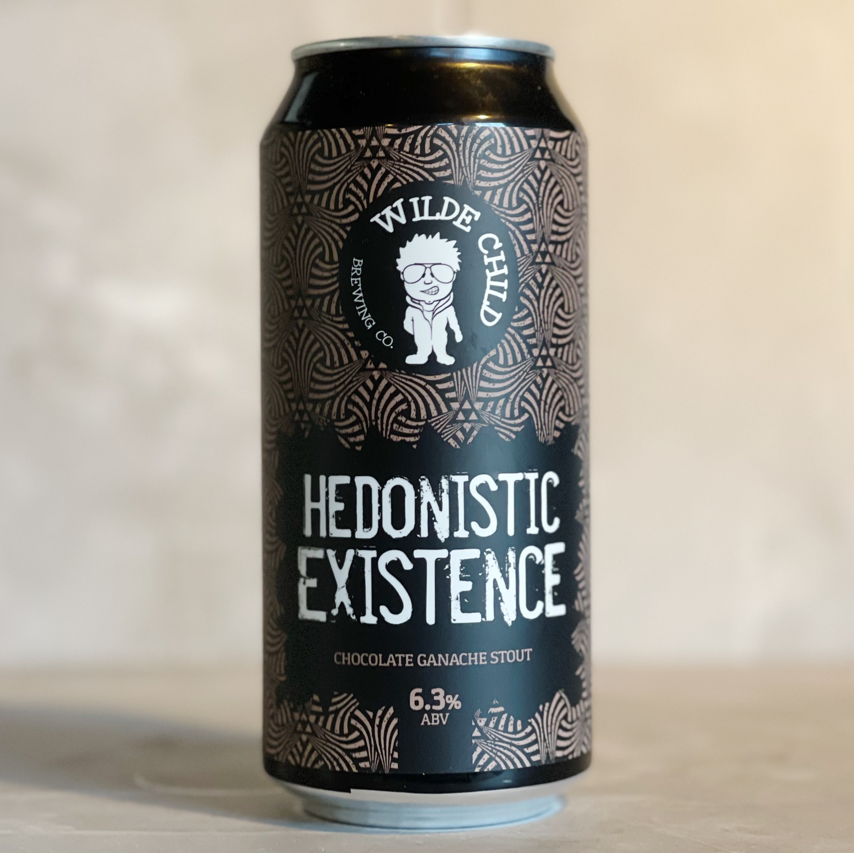 WILDE CHILD | HEDONISTIC EXISTENCE | CHOCOLATE GANACHE STOUT | 6.3% ABV | 440ML