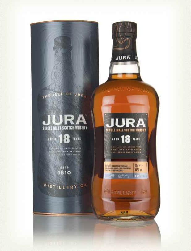 50ml - Isle Of Jura 18 Year Old