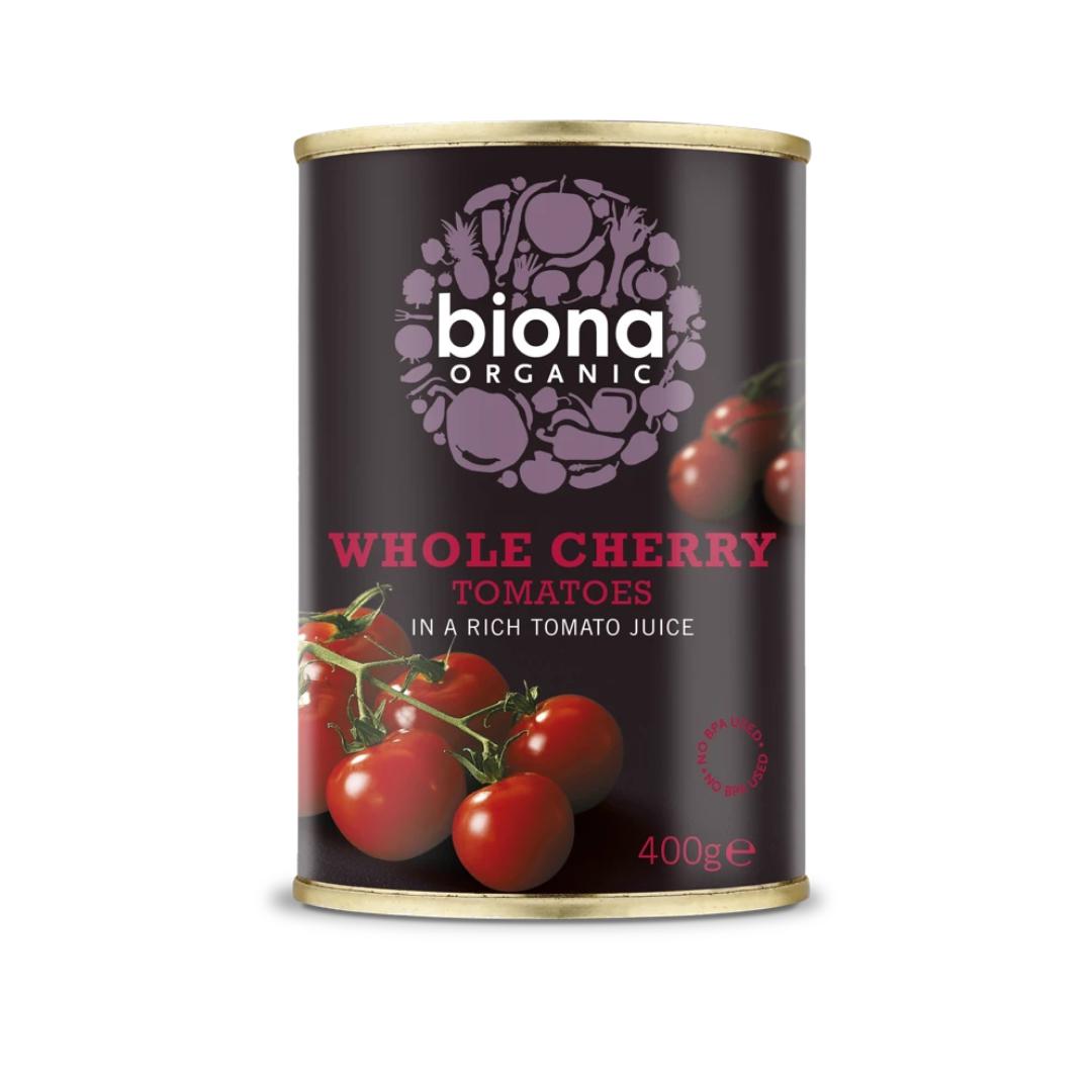 Whole Cherry Tomatoes in Tomato Juice, Organic