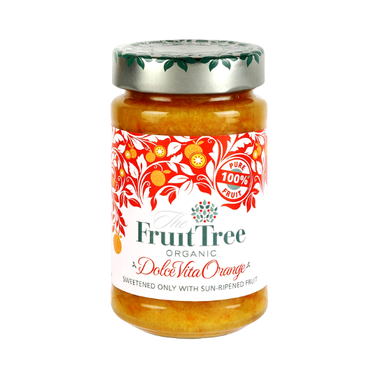 DolceVita Orange Fruit Spread Organic, The Fruit Tree