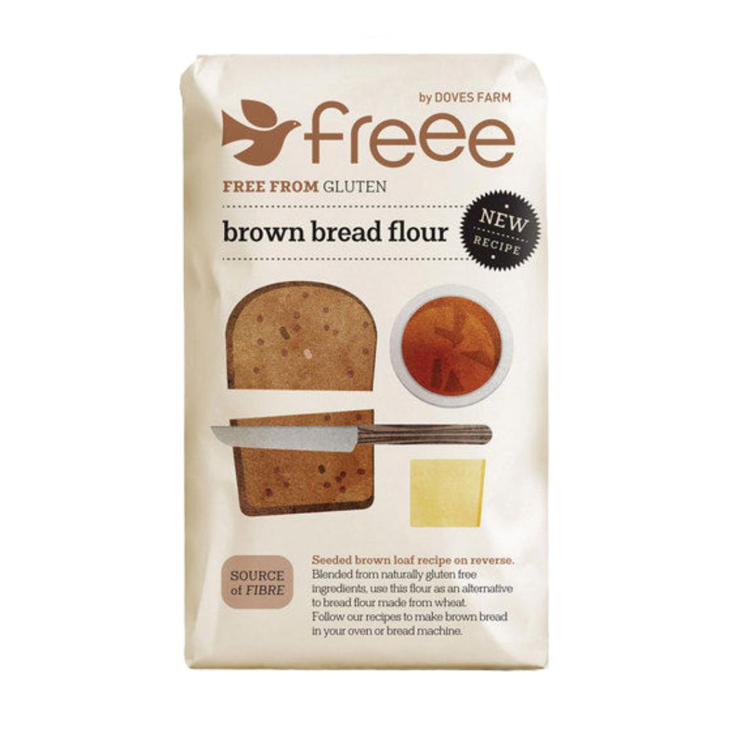 Gluten Free Brown Bread Flour, Organic
