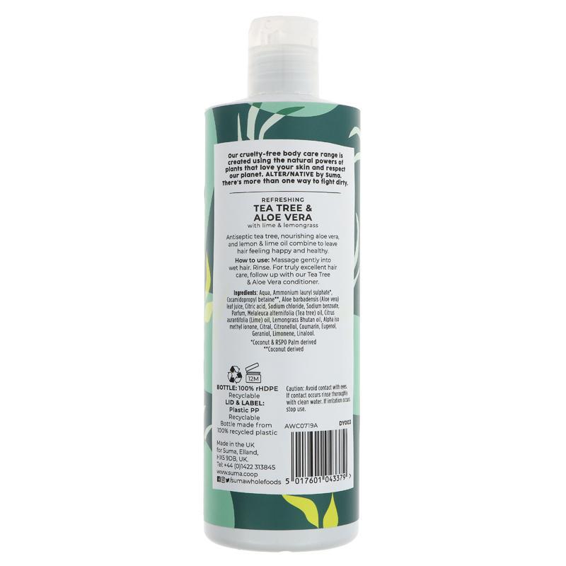 Alter/Native Tea Tree & Aloe Shampoo