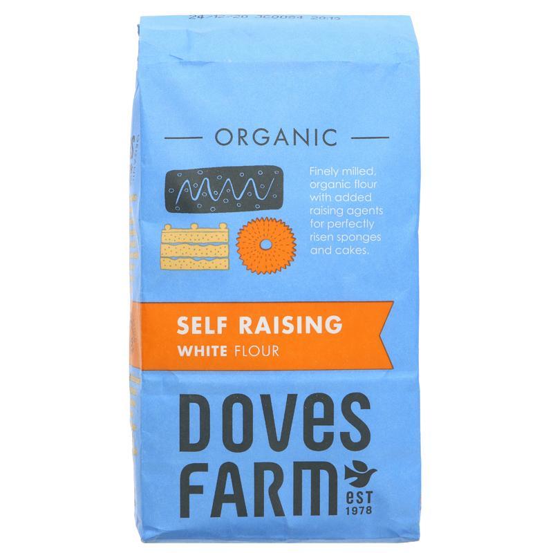 Self Raising White Flour (1kg), Organic