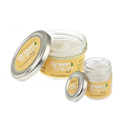 Green Cream Moisturiser, Hand & Body