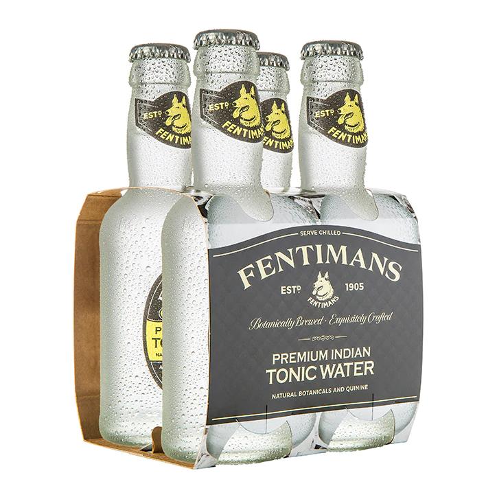 Fentiman's Tonic Water (4 x 200ml)