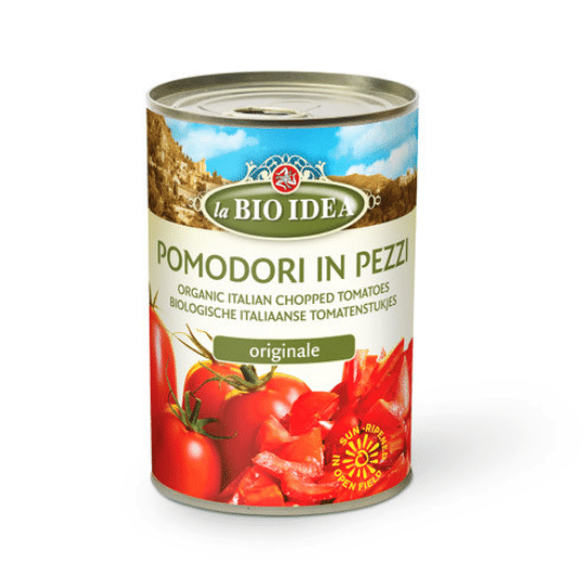 Chopped Tomatoes, Organic La BIO IDEA