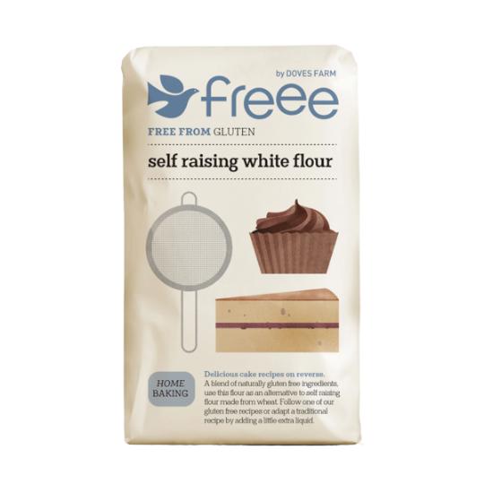 Gluten Free Self Raising White Flour (1kg), Organic