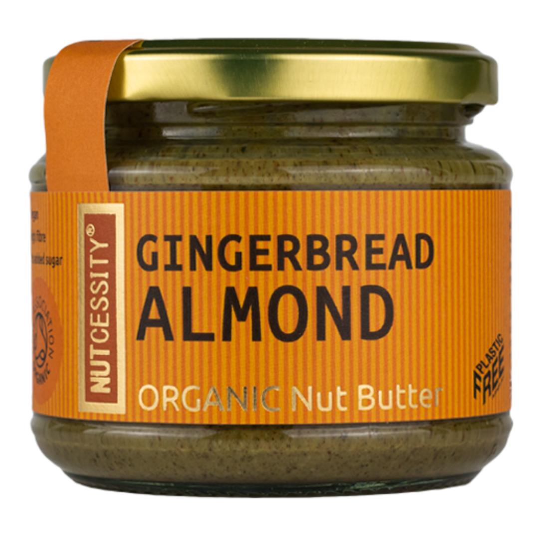 Organic Gingerbread Almond Nut Butter