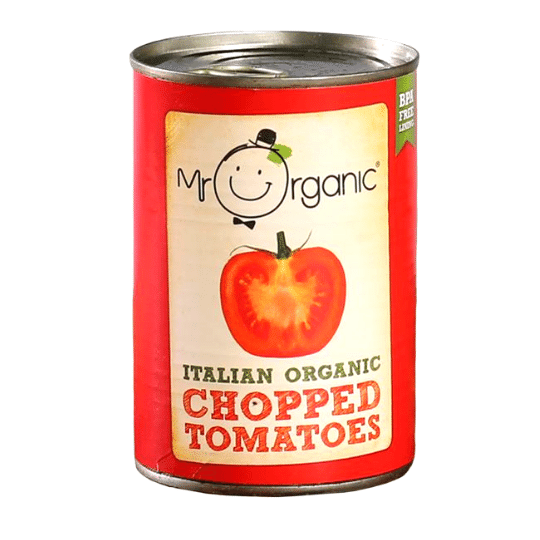 Italian Chopped Tomatoes, Mr. Organic