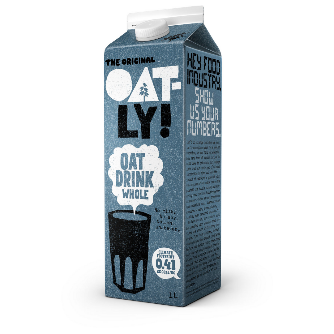 Oat Milk Whole, Oatly (Long Life)