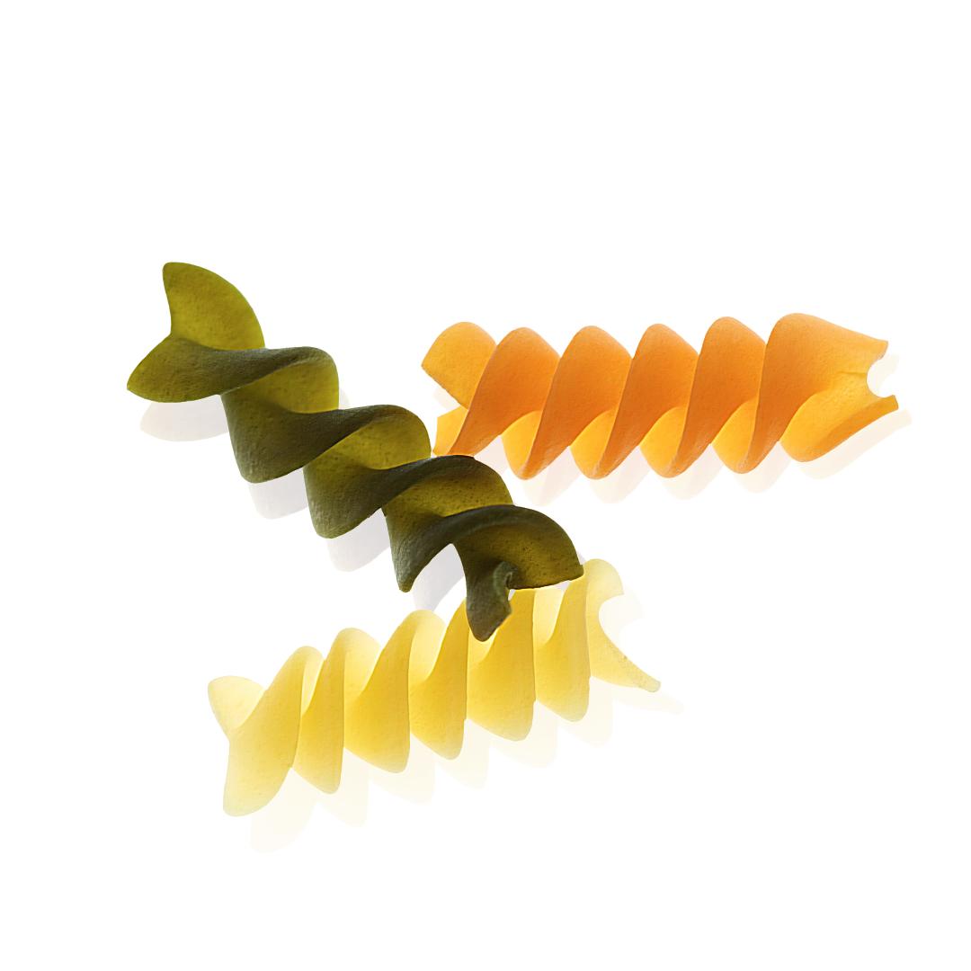 Tricolore Fusilli Pasta, Organic