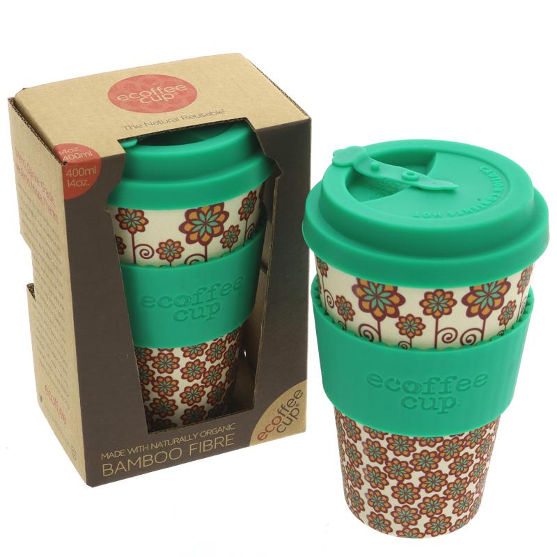 Ecoffee Bamboo Coffee Cup (14oz)