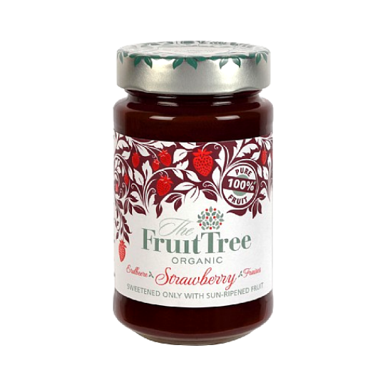 Strawberry Fruit Spread Organic, The Fruit Tree