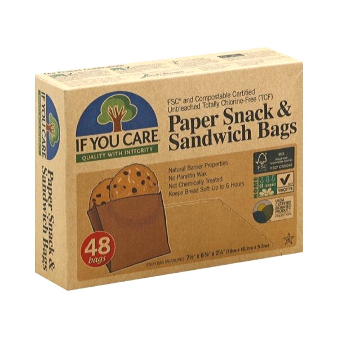Paper Snack & Sandwich Bags, If You Care